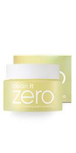 clean it zero, makeup remover, cleansing balm, banila co