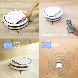 , Review of ILIFE V3s Pro Robotic Vacuum, Newer Version of V3s, Pet Hair Care, Powerful Suction Tangle-free, Slim Design, Auto Charge, Daily Planning, Good For Hard Floor and Low Pile Carpet