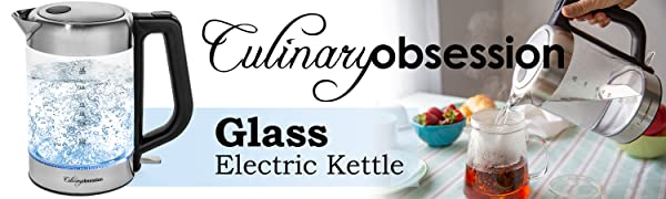 1.8L Stainless Steel Glass Electric Kettle-1