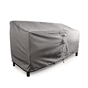 TITAN Series   Waterproof Heavy Duty Outdoor Lounge Loveseat Sofa Patio  Cover By KHOMO GEAR