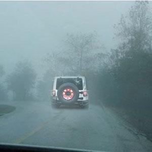 jeep wrangler spare tire brake light
