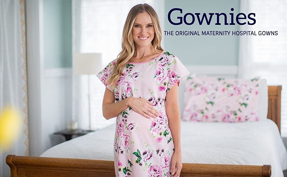 Baby Be Mine Gownies Labor Delivery Maternity Hospital Gown