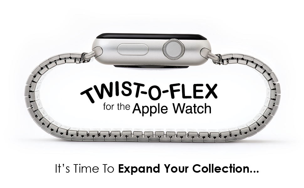efaf2afab6627a Just got an Apple Watch but don't want to leave your Twist-O-Flex band  behind? Now you don't have to... Experience the comfort and flexibility of  Speidel's ...