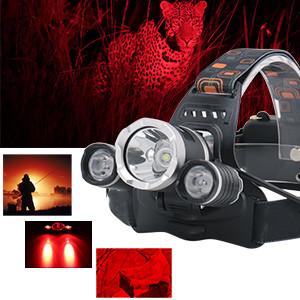 Amazon.com: Topwell – Color Rojo Luz Tactical 5000lm 3 x ...