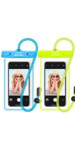 new product 026bd b5b52 Amazon.com: Waterproof Phone Pouch, Ace Teah IPX8 Universal ...