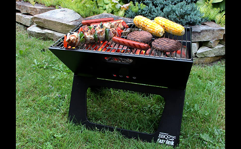 Amazon.com: BBQCroc Portable Easy Grill - Next Generation of X ...