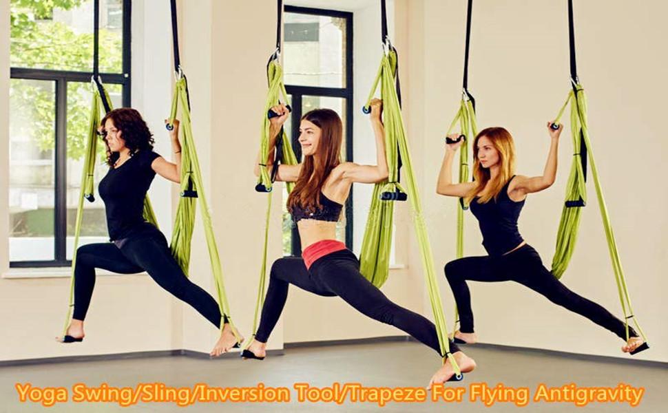 Amazon Com E Everking Yoga Swing Aerial Yoga Sling