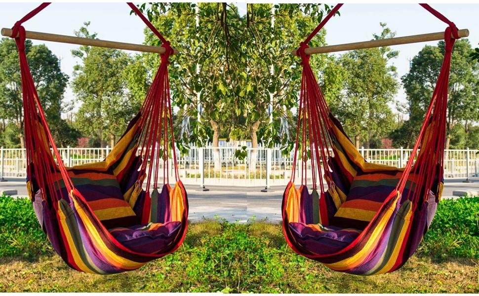 Amazon.com: EverKing Hanging Rope Hammock Chair Porch