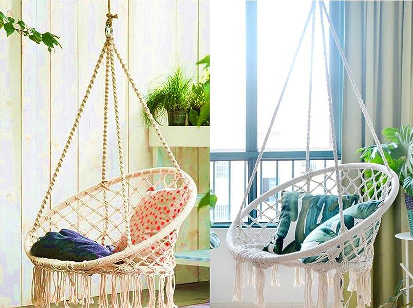 Beau E EVERKING Hammock Chair Macrame Swing,Perfect For Indoor, Outdoor, Home,  Patio, Deck, Yard, Garden,Proch