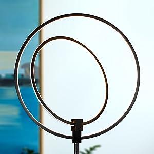 Amazon.com: Brightech - Lámpara de pie LED Eclipse ...
