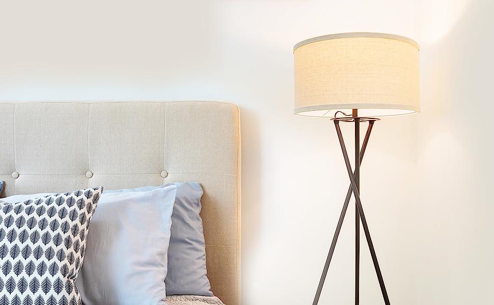 living room shades bedrooms bedside retro traditional uplight indoor standup natural dorm electrical