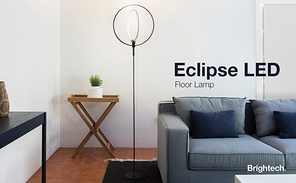 Amazon.com: Brightech - Lámpara de pie LED Eclipse ...
