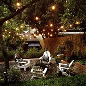 Amazon brightech ambience pro waterproof outdoor string lights brightech pro ambiance outdoor string lights provide endless options to transform your backyard or outdoor space into something magical aloadofball Gallery