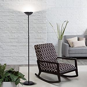 Brightech Skylite Led Torchiere Floor Lamp Modern