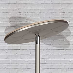 Brightech Sky Led Torchiere Floor Lamp Dimmable