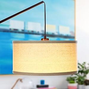 LED long lasting energy saving bulb included modern contemporary design office nursery playroom