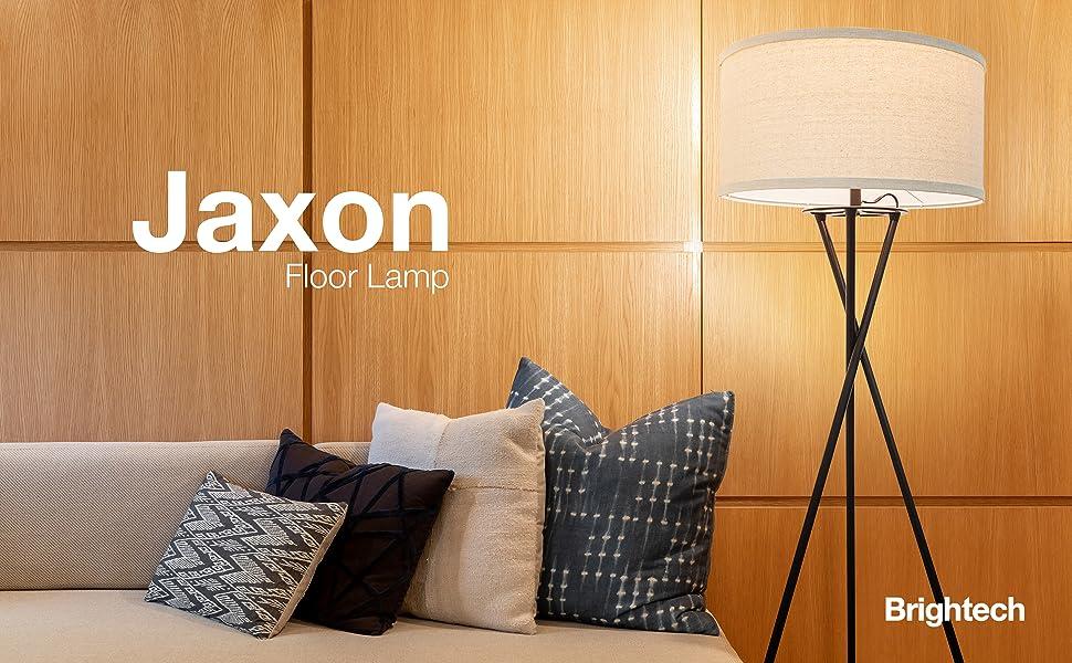 Brightech Jaxon Led Tripod Floor Lamp Mid Century Modern Contemporary  Industrial Decor Lights Rustic