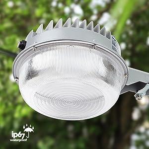 Brightech – LightPRO LED Yard Light – Brightest & Most Cost-Effective Security Light 56 Watts