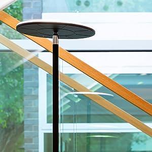 Brightech Sky Flux Modern Led Torchiere Floor Lamp For