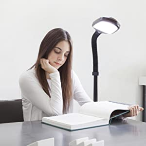The flexible gooseneck design allows you to pivot and direct light in any direction