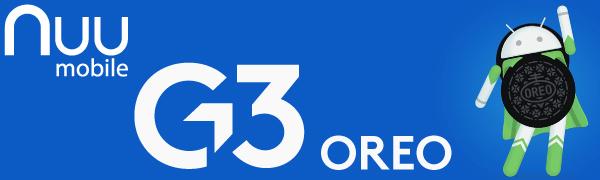 NUU Mobile G3 oreo