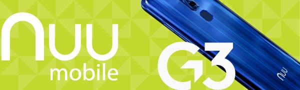 Unlocked phones, android phones, 4G LTE SPEED, NUU MOBILE G3