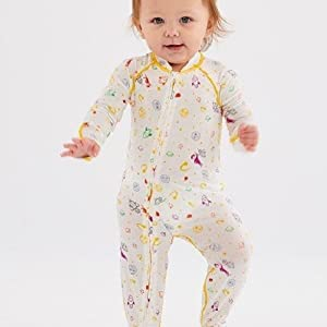 Eczema Sleepsuit for Babies - Itch Relief for Moderate to Severe Baby  Eczema with No Scratch Mitts -