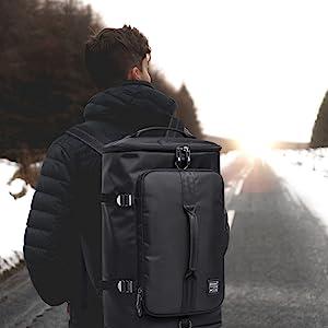 travel duffel backpack