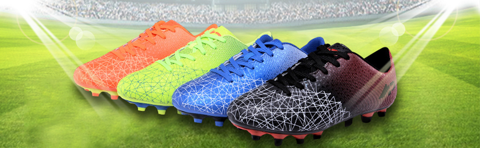 YING LAN Mens Boys Turf Cleats Soccer Athletic Football OutdoorIndoor Sports Shoes AG  B07BKS69BW