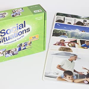 Cognitive Conversation skills  photo cards Social Situations