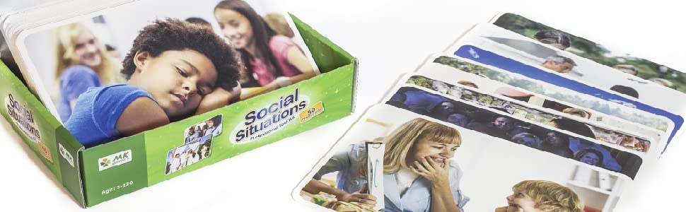 Conversation skills Cognitive Social Situations  Photo Cards