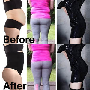 8913930648284 Lelinta Butt Lifter Shaper Seamless Tummy Control Hi-Waist Thigh ...