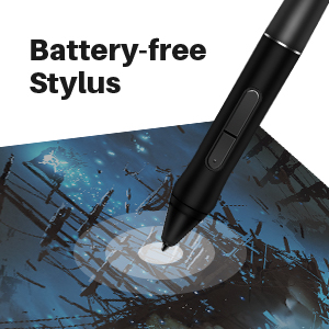 Battery-free Stylus