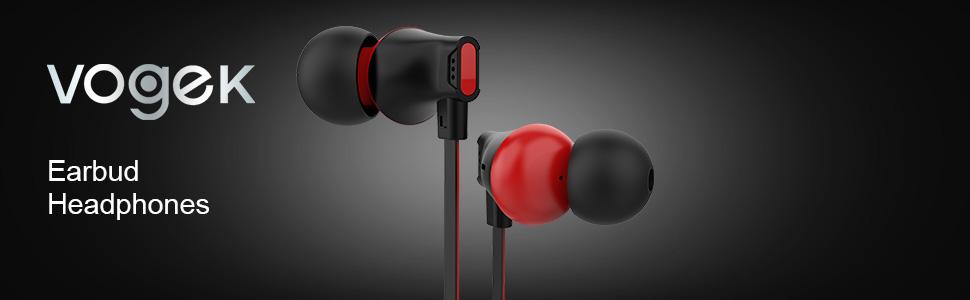 vogek stereo earbuds