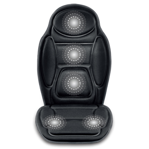 Back Massager With Heat Vibration Seat For Car