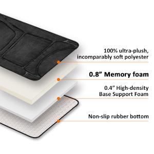 memory foam back massager