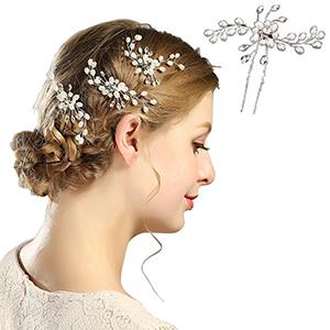 Crystal Rhinestone Hair Pins