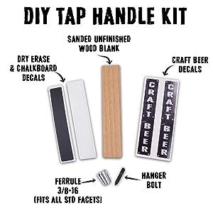 Tap Handle Kit Contents