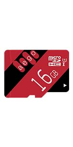 AEGO 128GB Micro SD Card UHS-1 Class 10 Memory Card with Adapter for Gopro Hero/Nikon/Drone-U1 128GB