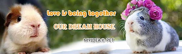 Small Pet Nest Guinea pig Hamster Chinchilla Sugar glider