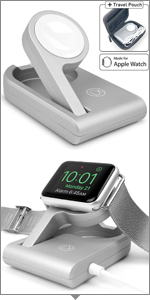 Travel charger apple watch series 4night stand cable iwatch portable