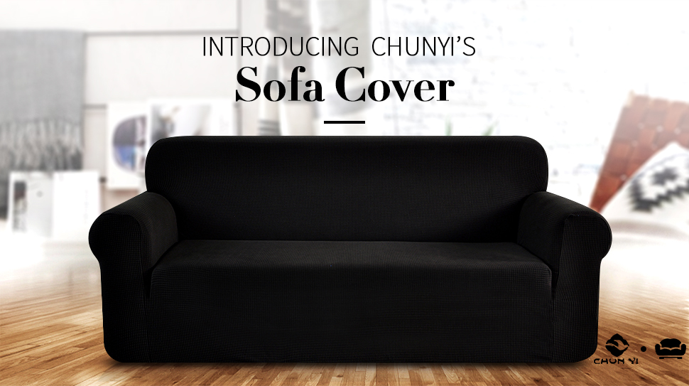Amazoncom Chunyi Jacquard Sofa Covers 1Piece Polyester Spandex