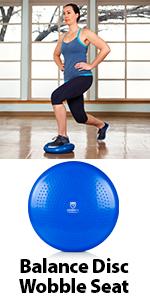 balance disc wobble cushion