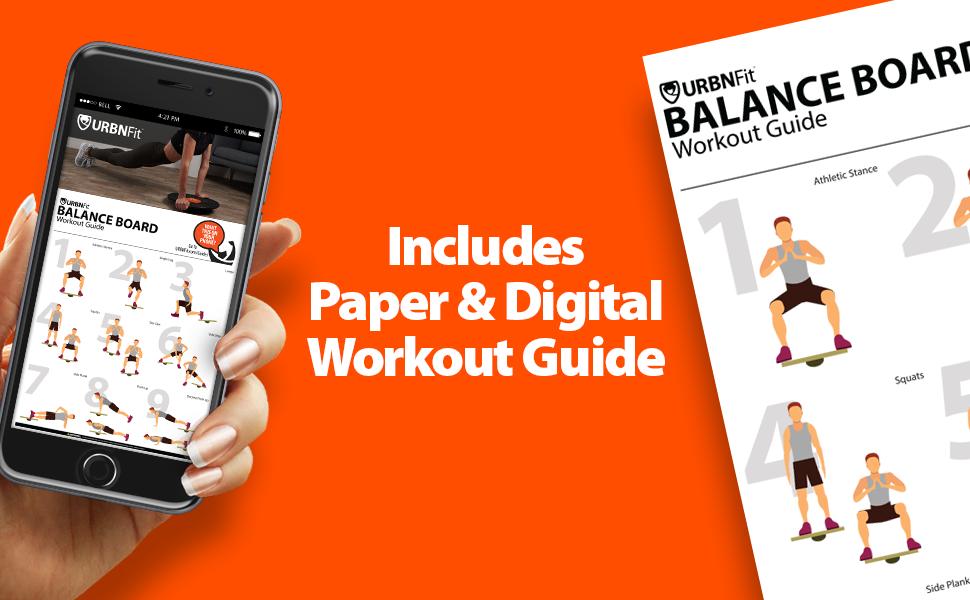 balance board workout guide