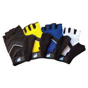 Elite Cycling Project Mens Road Racer Summer Cycling Mitts Gel Fingerless Cycling Gloves