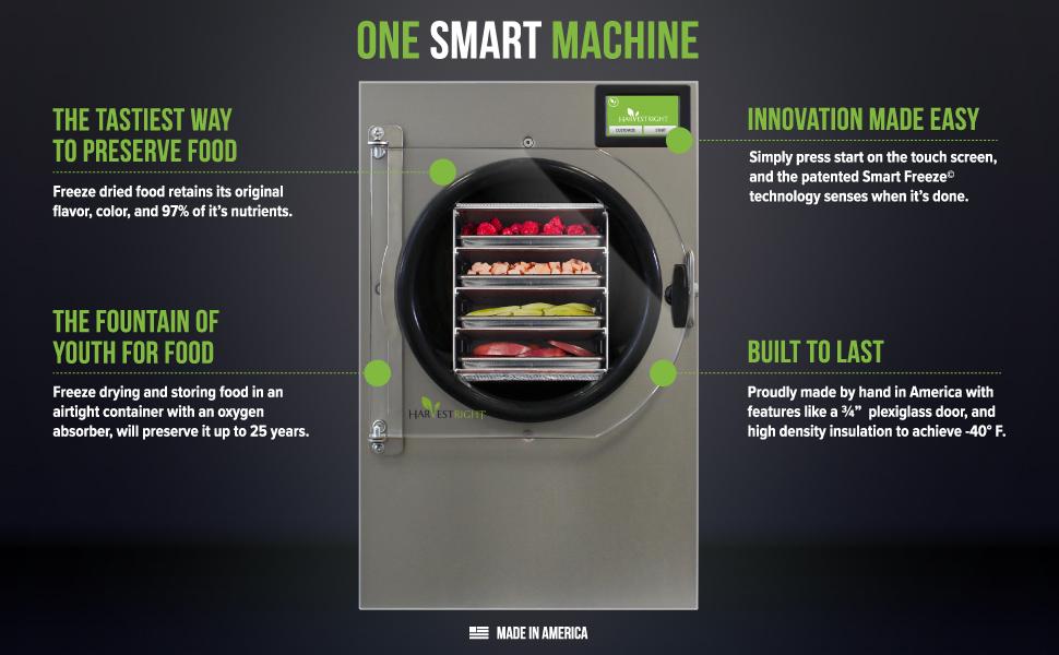 freeze dryer, food preservation, food dehyrdator, food storage