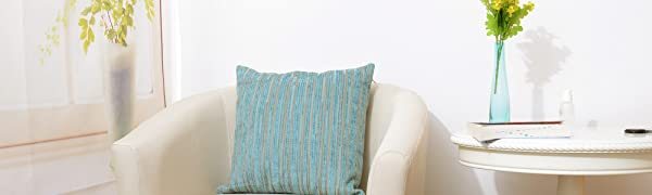 throw pillow cover striped