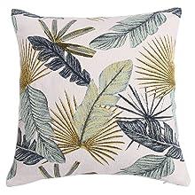 Cushion Cover Leaf Pattern