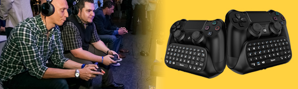 PS4 Mini keyboard chatpad text