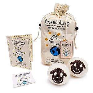Friendsheep Package Flock of Friends Eco Dryer Balls